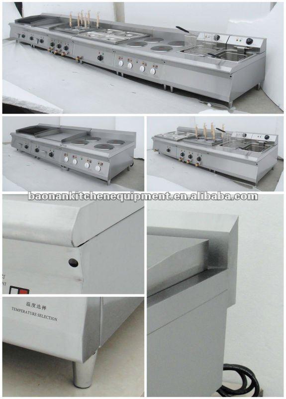 Gas Industrial Pasta machine
