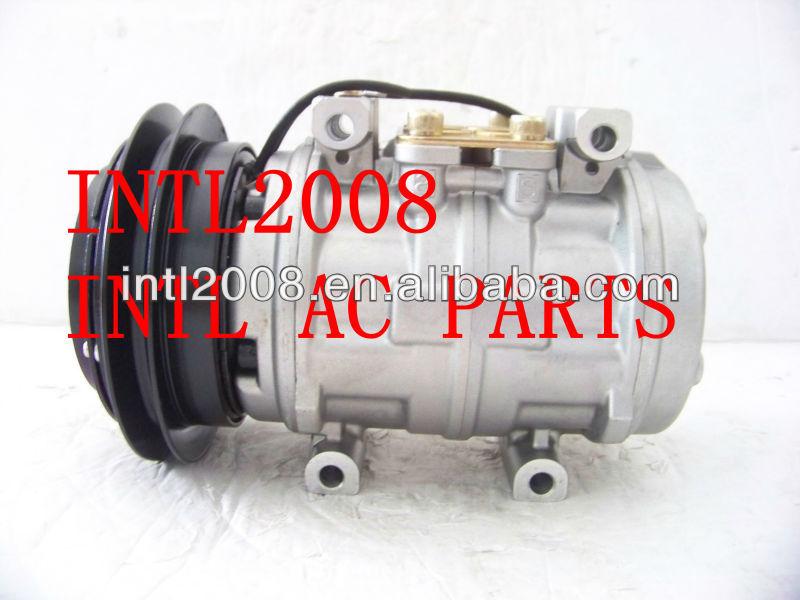 Mitsubishi DR1015C/DENSO 10P15C auto ac compressor Mitsubishi L300/Delica 4D56 1pk MR175655 CSA201A148 447200-7744 4472007744