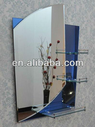 2014 nuevo dise o de ba o espejo con borde biselado for Espejo 5mm precio