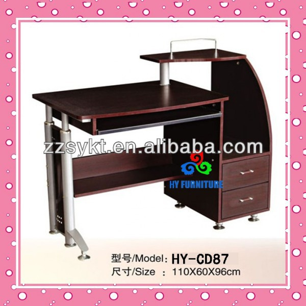 multi-functional office computer desk laptop table cheap price HY-CD133
