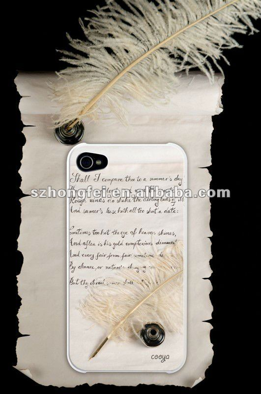 for iPhone4G Pattern Case/ Fashion Dollar-Tree Phone Cover