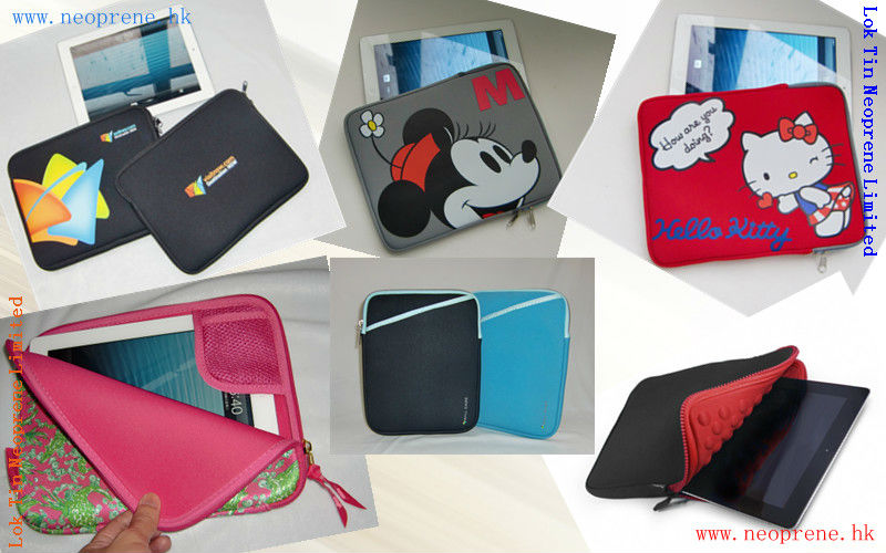 "Neoprene Tablet Cover For 8"" Tablet"