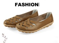 Женские оксфорды Spring autumn, dermal bird's nest female sandals work shoes hollow out sandals beef tendon with nurse shoes