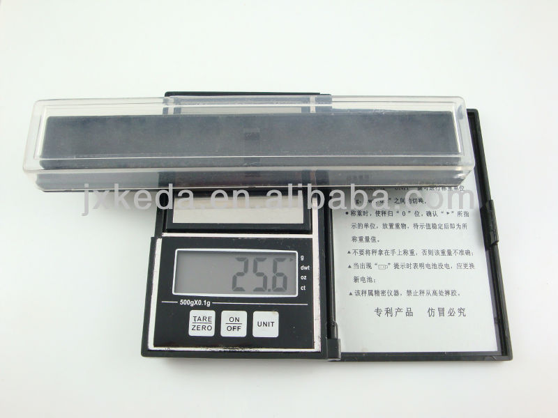 2013 Plastic Pen Case Transparent Lid
