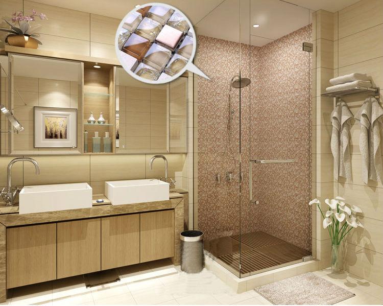 Metal azulejos backsplash cocina de dise o colorido - Mosaicos para banos modernos ...