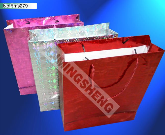 cotton handle shopping paper bags