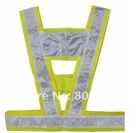 Защитная одежда 10pcs/lot unisize high visibility traffic Reflective Vest conspicuity safety vest warning reflective safety vest