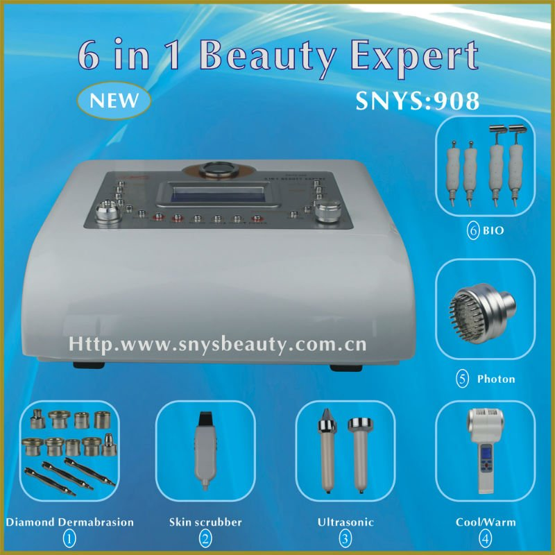 BIO Microdermabrasion Beauty Salon Machine (SNYS-908)