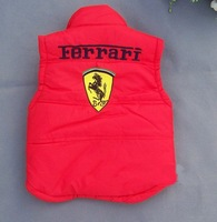 Жилет для мальчиков kids wear coat boy's F1 racing car vest 2color