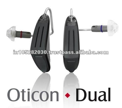 Digital programável aparelhos auditivos bte CE & FDA oticon dupla