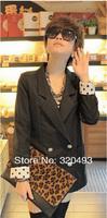 Клатч 2012 FALL/WINTER Brand New DESIGN Leopard Clutches Bag IPAD Envelope Bag Fashion Women Hand bag AC-508