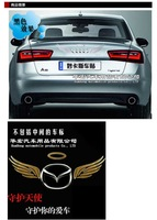 Наклейки auto car body angel vehicle logo sticker, paster, decals, tags, PVC material products, accessory, parts, Focus, Tiguan, K5