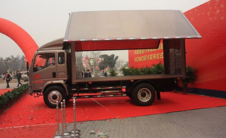 HOWO 9.87ton 140hp 4X2 van cargo truck(ZZ5167XXYG3815C1)