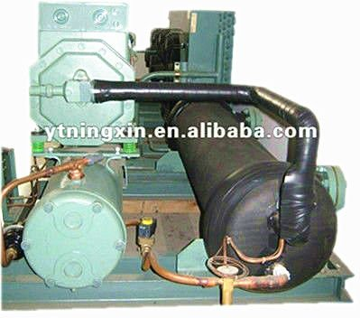 BITZER semi-hermetic piston water chiller compressor