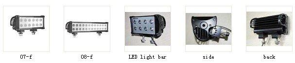 High power LED light bar, LED off road light, LED driving light, IP 68, super anti-shock!