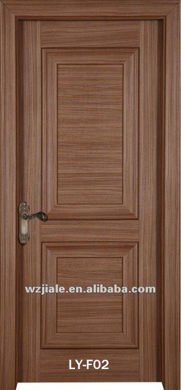 Belle style europ en solide porte en bois portes id de for Porte des chambres en bois