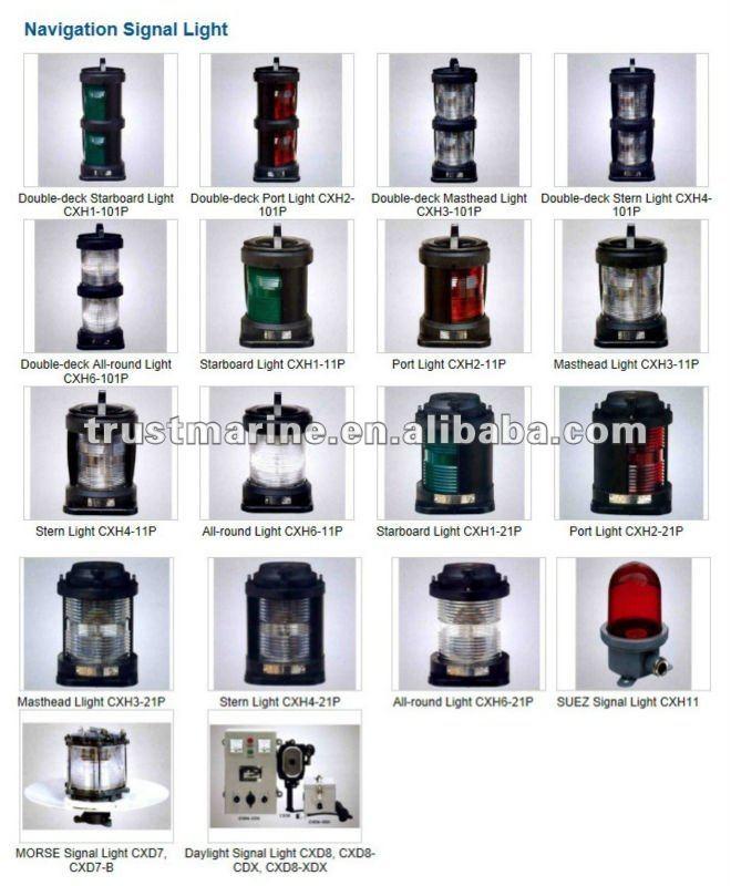 Marine Navigation Signal Light CXH8-2, Anchor Light