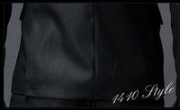Мужской блейзер korean Fashion Men Suit Coat Top One Button designer suit blazer Style Slim &Fit business suits black M-XL x05/90