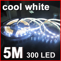 Светодиодная лента 5m 300LED 5050 non-water proof SMD 12V flexible light 60led/m LED strip white/warm white/blue/green/red/yellow