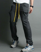 Retails New Men's Cool Pants Casual Sports Trousers Jogging Rope Haren Slacks 4 color M/L/XL 11070
