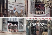 Париж Ностальгия угловой кофе дом полиэстер печати водонепроницаемый Душ занавес пряжки этилированный линии
