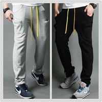 Retails New Men's Cool Pants Casual Sports Trousers Jogging Rope Haren Slacks 4 color M/L/XL 11070