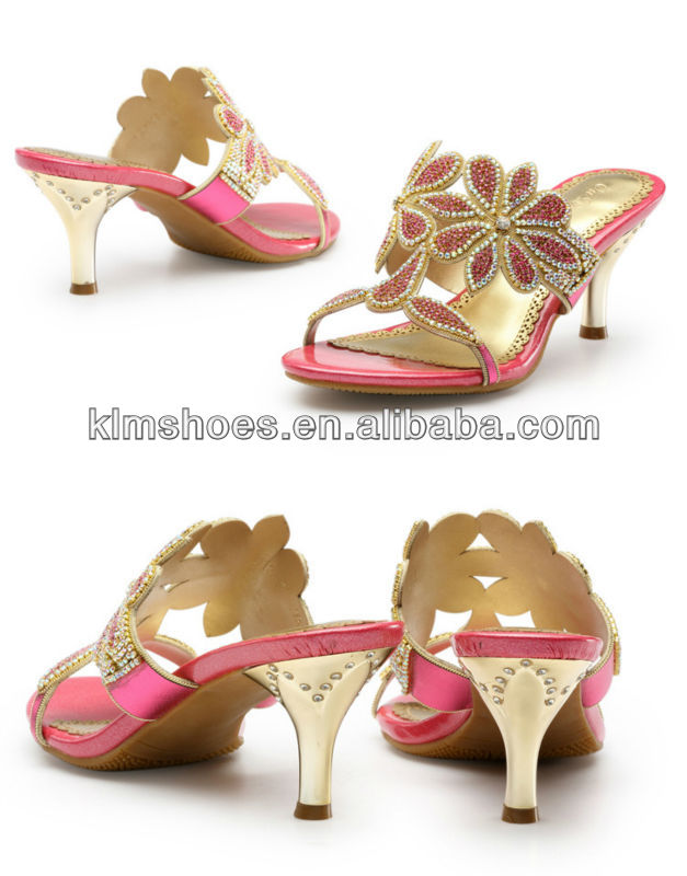 2013 Fashion model girls lady woman sandals new designs pink color