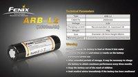Заряжаемые батарейки Fenix 18650