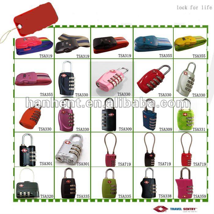 Voyage 3 dial bagages cadenas tsa