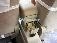 Подлокотники в авто Nissan Tiida Versa Center Console Armrest Beige Leather 2007 2008 2009 2010 2011