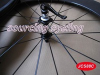 only 940g carbon clincher wheel 88mm carbon road wheelset one piece