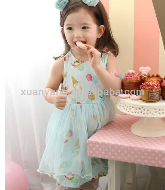 2013 Korea model dresses for girls