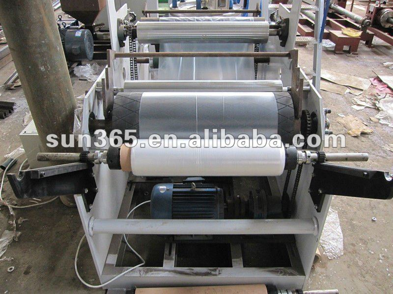 Blown Plastic Film Machine