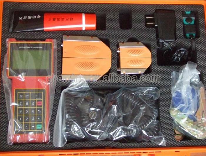 FYcs-2000H handheld ultrasonic flow meter water flow control