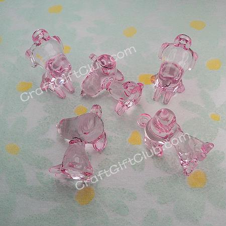 Aliexpress.com : Buy 20 Pink Snoopy Dog Baby Shower Bead