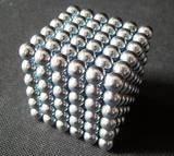 Неокубы, Кубики-Рубика 3mm Silver Neocube Toy Neo Cubes Magnetic Spheres Balls