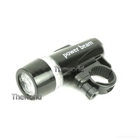 Complete Bike LED Kit - 5-LED 2-Mode Front + 5-LED 7-Mode Rear