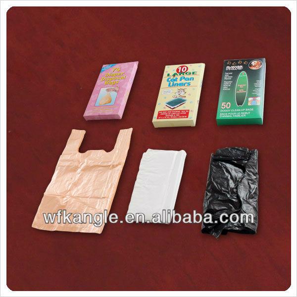 disposable custom printed dog poop bags