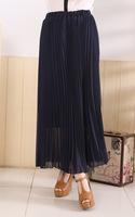 Женская юбка 2014 pleated skirt   Women skirt mopping the floor skirt