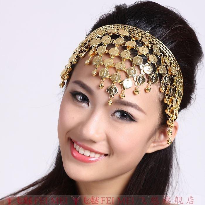 Detalle Comentarios Preguntas sobre De lujo de danza del vientre diadema  tocado monedas TRIBAL gitano étnico árabe joyas en Aliexpress.com  31a6e3601b8