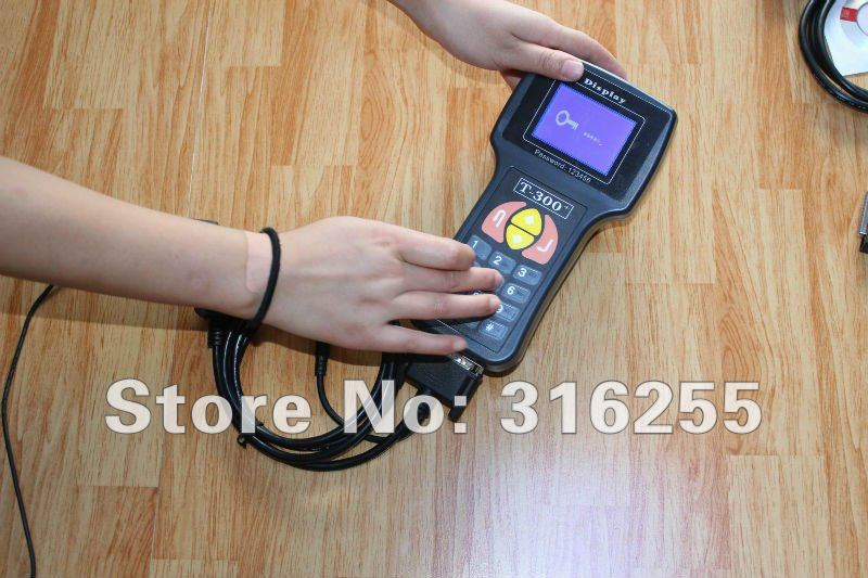 Top Quality T300 Key Programmer V9.99 Spain/English Language Available Support 46 cars