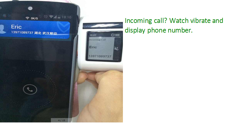 2014 NEW Smart Watch with Phone SMS sport health smart watch