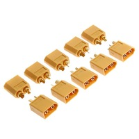 10 Pairs XT60 Male Female Bullet Connectors Plugs For RC Battery,5set/lot,wholesale+free shipping