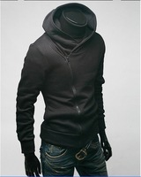 Мужская толстовка 2012 men's hoodie .men's jackets, mens sweater hoodie. men's dust coat, Hooded jacket coat US size M.L.XL.XXLY0759