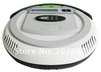 free shipping 3 In 1 Multifunctional Robot Vacuum Cleaner (Auto Vacuum,Sterilize,Air Flavor),LCD Screen