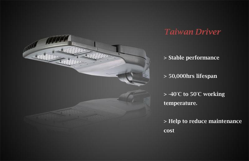 70W black shell CREE/Nichia Solar LED street light