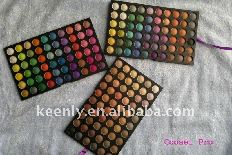 180 color matte ,ultra shimmer and warm eyeshadow palette;OEM and Free shipping of wholsale available ,