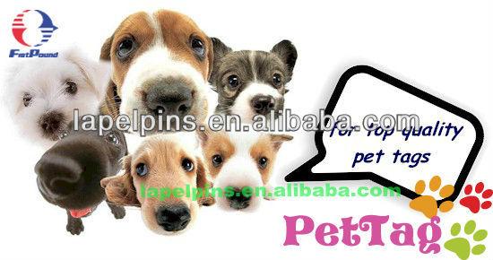 Glitter Paw Pet Tags