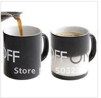 Кружка Glacier ON OFF Color Changing Mug Magical Chameleon Coffee Cup Temperature Sensing Novelty Gift