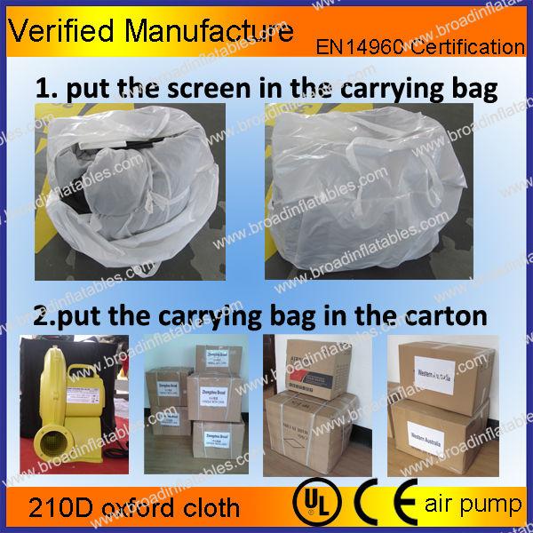 inflatable screen,air screen,movie screen(8)